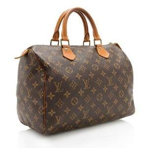 VTG Louis Vuitton Speedy 30 Monogram Bag